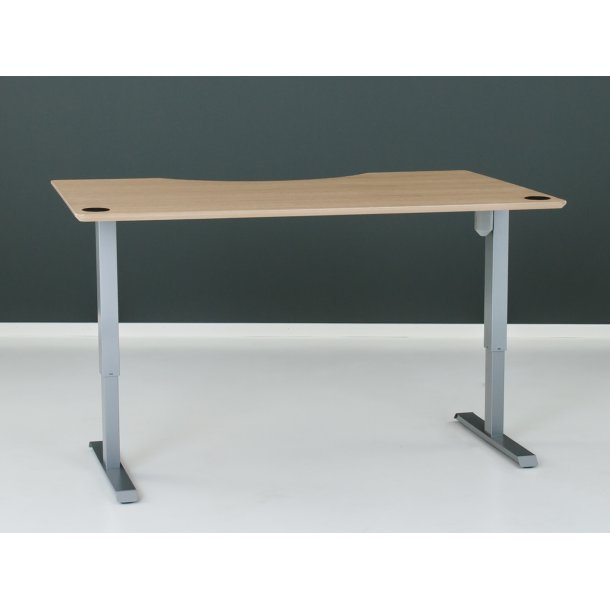 Combi Hæve/sænke bord 160 Midtbue